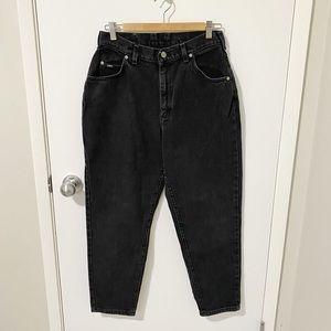 Lee Vintage High Waist Mom Jeans, Black